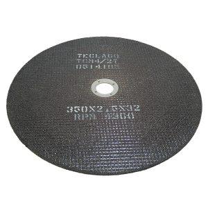 Disco de corte para metalografia 350X2,5X32mm - TCM4